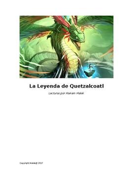 La Leyenda de Quetzalcoatl Reading Packet