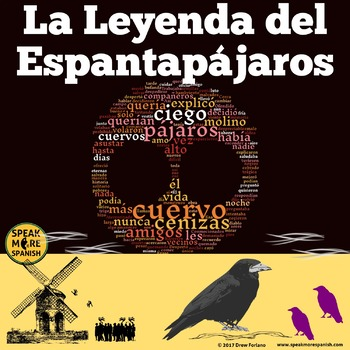 La Leyenda del Espantapájaros. Spanish Movie Lessons for Vocabulary and Grammar.