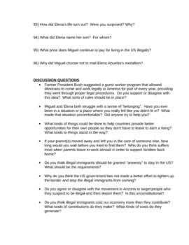 La Linea: Reading Guide, Discussion Topics, useful links