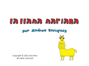 La Llama Mariana Audio Book in Spanish (Peru)