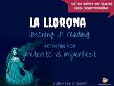 La Llorona: Reading & Listening for Preterite vs Imperfect Lesson Plan
