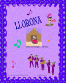 La Llorona - Mariachi Music (MP3), Worksheets, Pictures and to Learn Spanish