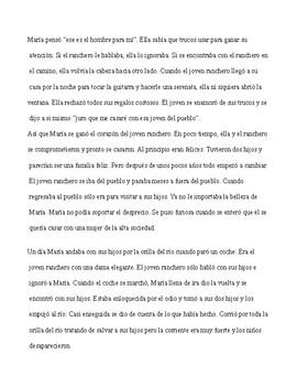 La Llorona legend in Spanish