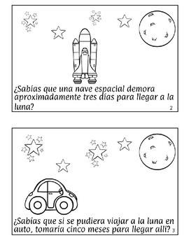 La Luna Spanish Mini Book