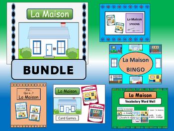 La Maison BUNDLE –French House Vocabulary