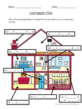 La Maison - Beginner French Full Unit (Houses and Homes)