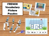 La Maison – French Puzzle Strips Vocabulary Activity