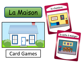 La Maison – The House Vocabulary in French Card Games