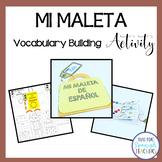 La Maleta de Español {Vocabulary Building Activity}