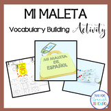 La Maleta de Español {Vocabulary Building Activity}