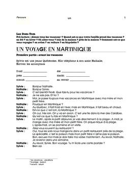 La Martinique (1) / Youssou N'Dour (2), L'Afrique (3) / mini thematic units-FR 1