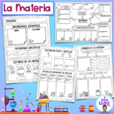 La Materia- Matter- English/ Spanish