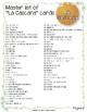 La Media Naranja Game for Spanish Class Adjectives, Nouns and Verbs!