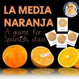 La Media Naranja Game for Spanish Class Adjectives, Nouns and Verbs!