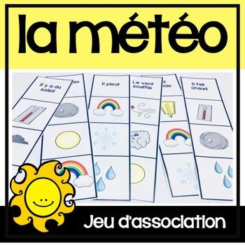 La Météo/Le Temps - Jeu d'association