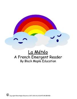 La Météo French Emergent Reader