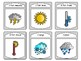 La Météo- Spoons Weather French Vocabulary Card Game