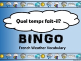 La Météo-Weather Bingo in French