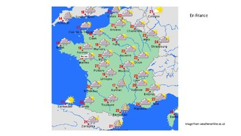 La Météo - Weather report activity