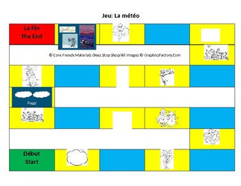La Meteo/Weather Board Game Option A