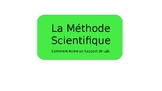 La Methode Scientifique