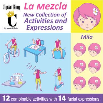 La Mezcla Mila - Activities and Facial Expressions