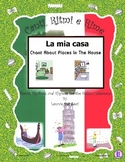 Italian Rooms of the House (La Mia Casa) with this Rap-like Chant & MP3