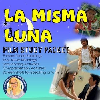 La Misma Luna Film Study Packet by Placido Language Resources | TpT