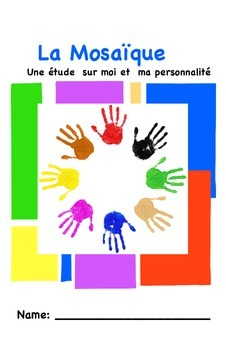 La Mosaïque - A No Prep French Unit on Personality