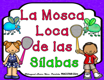 Juego de La Mosca Loca de las Silabas - The Crazy Fly of theSpanishSyllablesGame