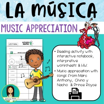 Spanish/Latin Music Appreciation Packet