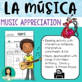 La Música Latina / Latin Music Appreciation Activity Packet