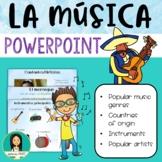 La Musica Latina / Latin Music PowerPoint