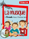 "La Musique - A French ""Music"" Themed Unit"