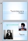 La Musique Francais - French Popular Music Powerpoint Pres