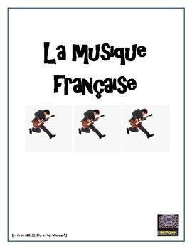 La Musique française - des clips vidéo - Internet activity