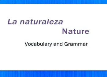 La Naturaleza - Nature - Review Video Tutorial