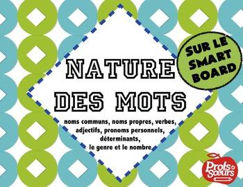 La Nature des Mots // Leçon sur Notebook