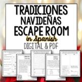 La Navidad Break Out Room Spanish Escape Activity for Christmas
