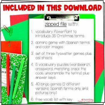 La Navidad Bundle! (Christmas-Themed Bundle)