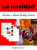 La Navidad: Christmas in Spanish-Speaking Countries Reading/Activities/English