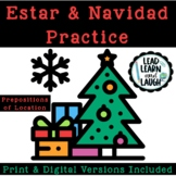 La Navidad + Estar With Prepositions of Location - Distance Learning