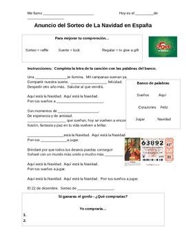 La Navidad - La Lotería en España