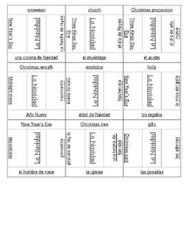 La Navidad Puzzle - Jigsaw - Spanish 1, 2 or 3