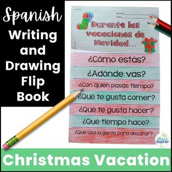 Spanish Christmas Vacation Navidad Flip Book