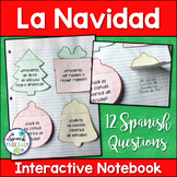 La Navidad: Spanish Interactive Notebook Questions