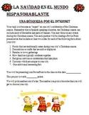La Navidad Webquest. Christmas in Spanish-speaking... 5 Days
