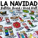 La Navidad Word Wall / Bulletin Board