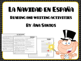 La Navidad en España- reading and writing activities