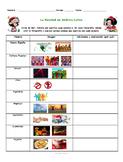 La Navidad en Latinoamérica. Cuba, México, Colombia. Spanish Listening Activity.